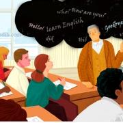 زبان، مدرسه و آموزشگاه